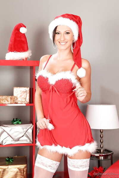 Christmas helper Emylia..