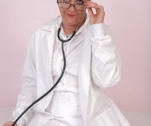 Lusty mature doctor in..