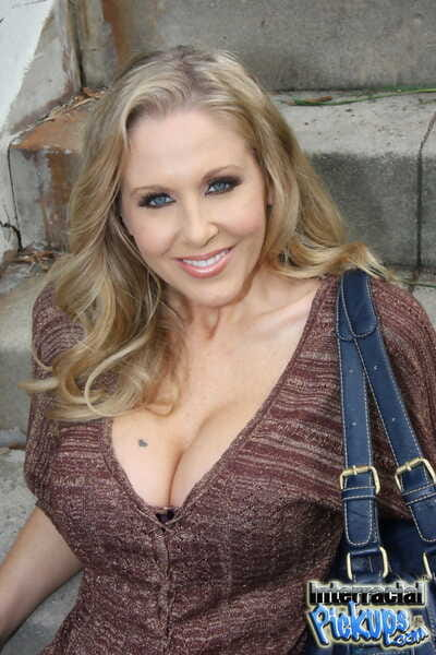 Exotic blonde MILF Julia Ann..