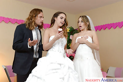Teen wedding with pornstars..