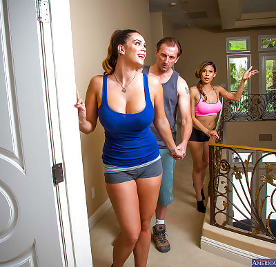 Alison Tyler and Heather..