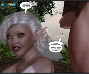 A blond elf doing xxx in..